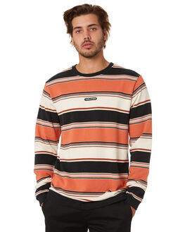 BURNT ORANGE MENS CLOTHING VOLCOM JUMPERS - A4612006BOR