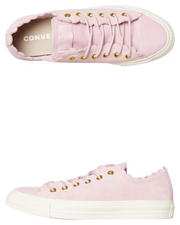 PINK OUTLET WOMENS CONVERSE SNEAKERS - 563416PINK