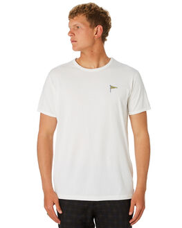 OFF WHITE MENS CLOTHING BANKS TEES - WTS0411OWH
