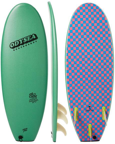 STEEL GREEN SURF SOFTBOARDS CATCH SURF PERFORMANCE - ODY50-TSG17
