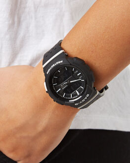 BLACK WHITE WOMENS ACCESSORIES BABY G WATCHES - BGA240-1A1BLKWH
