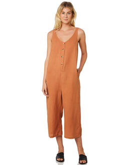 CARAMEL WOMENS CLOTHING THE HIDDEN WAY PLAYSUITS + OVERALLS - H8189446CRMEL