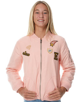 BLUSH PINK KIDS GIRLS EVES SISTER JACKETS - 9990026PNK
