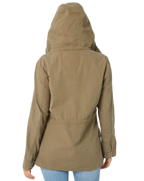 KHAKI WOMENS CLOTHING SWELL JACKETS - S8183383KHAKI