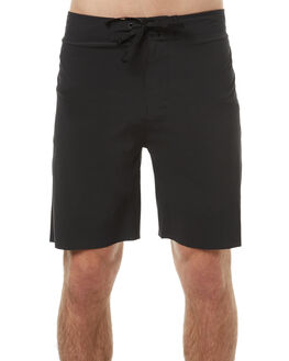 BRIGHT BLACK MENS CLOTHING OUTERKNOWN BOARDSHORTS - 1810017BBK