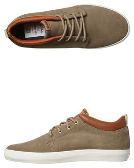 WALNUT OFF WHITE MENS FOOTWEAR GLOBE SKATE SHOES - GBGSCHUKKA-16265