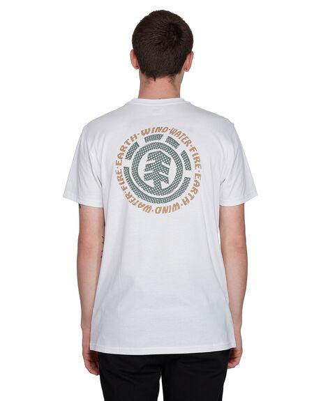 WHITE MENS CLOTHING ELEMENT TEES - EL-107009-WHT
