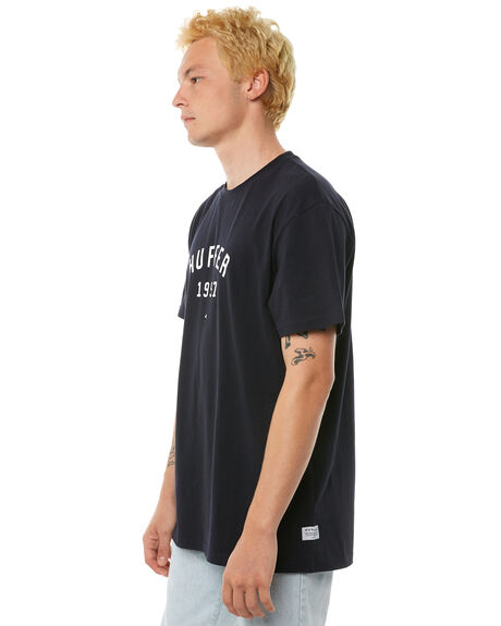 NAVY MENS CLOTHING HUFFER TEES - MTE81S220-544NVY