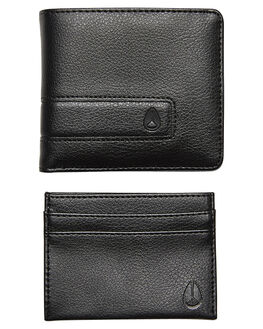 ALL BLACK MENS ACCESSORIES NIXON WALLETS - C1585001