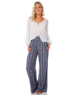 INDIGO WOMENS CLOTHING TIGERLILY PANTS - T383370IND