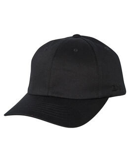 BLACK MENS ACCESSORIES FLEX FIT HEADWEAR - COS-80644-BLK