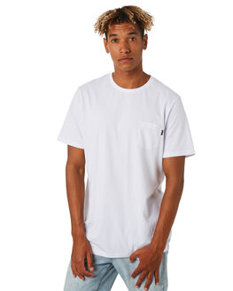 WHITE MENS CLOTHING RIP CURL TEES - CTESY21000