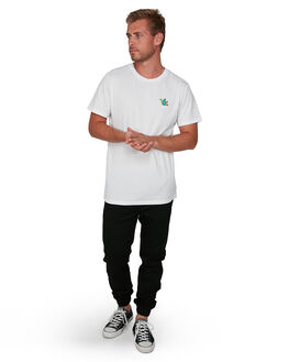 WHITE MENS CLOTHING VONZIPPER TEES - VZ-V901020-WHT