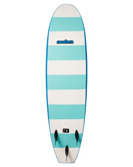 BLUE WHITE BOARDSPORTS SURF RANDOM SOFTBOARDS SOFTBOARDS - CLSSSB70BLUWH