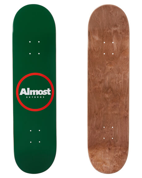 GREEN BOARDSPORTS SKATE ALMOST DECKS - 100231173GREEN