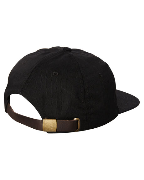 BLACK MENS ACCESSORIES OAKLAND SURF CLUB HEADWEAR - SU18-H1-BBLK