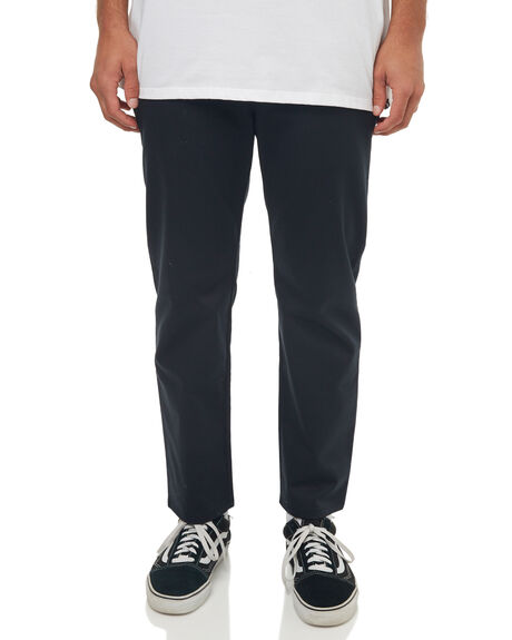 BLACK MENS CLOTHING HURLEY PANTS - 942779010