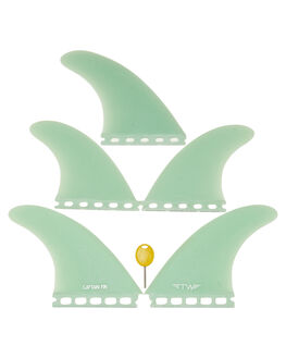 TEAL BOARDSPORTS SURF CAPTAIN FIN CO. FINS - CFF4411832TEA