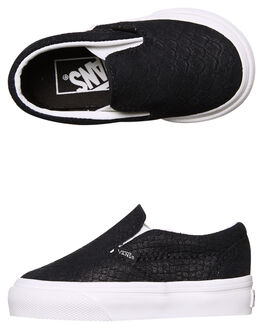 BLACK BLANC KIDS TODDLER BOYS VANS FOOTWEAR - VN-A32QJOS3BLK