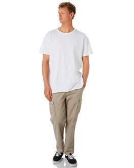 WASHED OLIVE MENS CLOTHING DEPACTUS PANTS - D5201191WSHOL