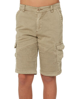 TAN KIDS BOYS ST GOLIATH SHORTS - 2420029TAN