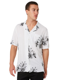 WHITE MENS CLOTHING ZANEROBE SHIRTS - 305-MAKWHT