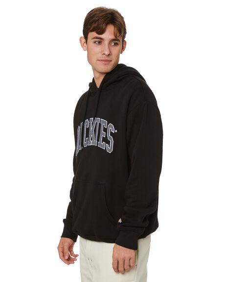 BLACK MENS CLOTHING DICKIES HOODIES + SWEATS - K3210502BLK