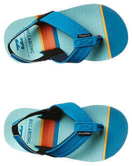 BLUE KIDS TODDLER BOYS BILLABONG FOOTWEAR - 7661943BLU