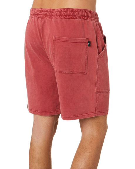 RED OUTLET MENS RIP CURL SHORTS - CWAAS90040