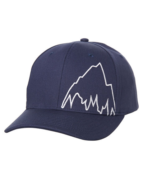 43bf60f3c17a8 Burton Mountain Slidestyle Fitted Cap - Indigo