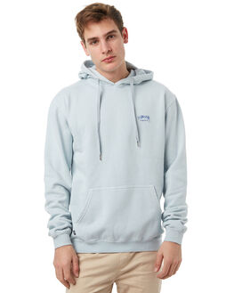 DIRTY ICE BLUE MENS CLOTHING STUSSY JUMPERS - ST071211DIBLU