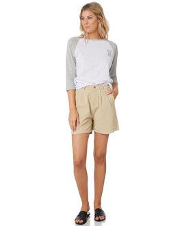 GREY MARLE WOMENS CLOTHING RUSTY TEES - TTL1065GMA