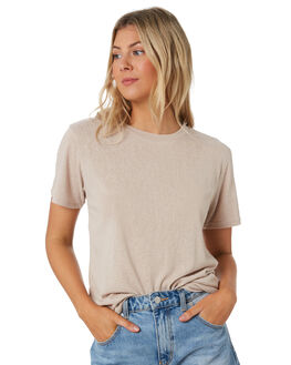 NATURAL WOMENS CLOTHING SWELL TEES - S8201006NATRL
