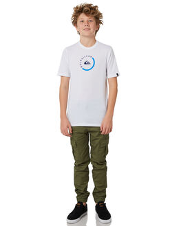 FOUR LEAF CLOVER KIDS BOYS QUIKSILVER PANTS - EQBNP03070GPH0