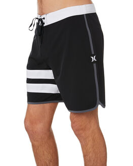 BLACK MENS CLOTHING HURLEY BOARDSHORTS - AQ9986010