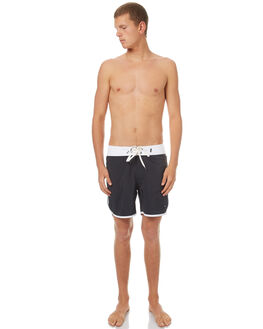 NAVY WHITE MENS CLOTHING SWELL BOARDSHORTS - S5162237NVWH