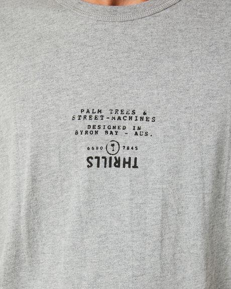GREY MARLE MENS CLOTHING THRILLS TEES - TW20-123GGRYML