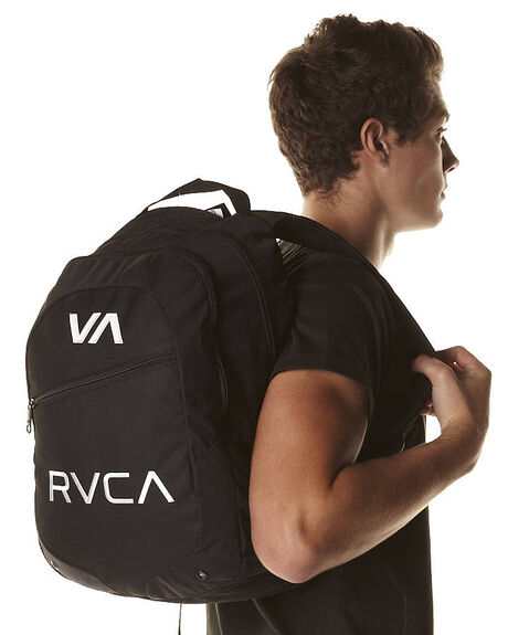 BLACK MENS ACCESSORIES RVCA BAGS + BACKPACKS - R332452ABLK