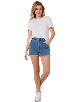 BONDI BLUE WOMENS CLOTHING ROLLAS SHORTS - 12774-542