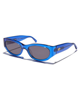 DEEP BLUE MENS ACCESSORIES CRAP SUNGLASSES - FUNKP102GGDBLU