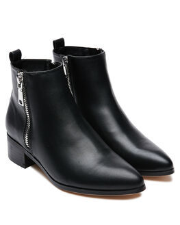 BLACK WOMENS FOOTWEAR THERAPY BOOTS - 9659BLK