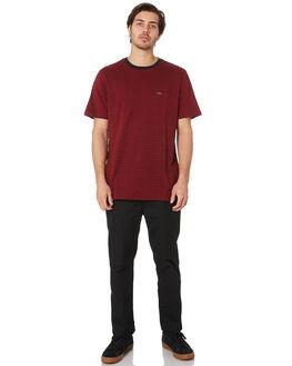 CABERNET MENS CLOTHING VOLCOM TEES - A01118R0CAB