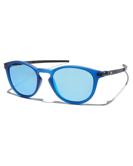 TRANSPARENT BLUE PRIZM MENS ACCESSORIES OAKLEY SUNGLASSES - OO9349-1350TBLU