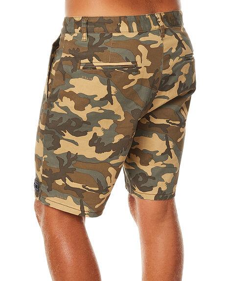DARK CAMO MENS CLOTHING AFENDS SHORTS - 09-07-008DKCAM