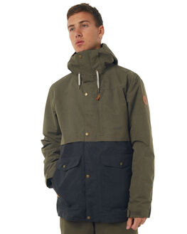 GRAPE LEAF SNOW OUTERWEAR QUIKSILVER JACKETS - EQYTJ03122CRE0