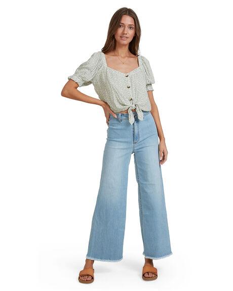 MINT WOMENS CLOTHING BILLABONG FASHION TOPS - 6513131-MNT