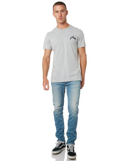 GREY MARLE MENS CLOTHING RUSTY TEES - TTM1612GMA