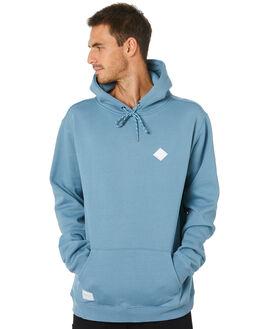 DUST BLUE MENS CLOTHING RPM JUMPERS - 20WM11B2DSBLU