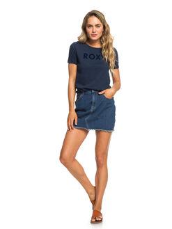 DRESS BLUES WOMENS CLOTHING ROXY TEES - ERJZT04512-BTK0