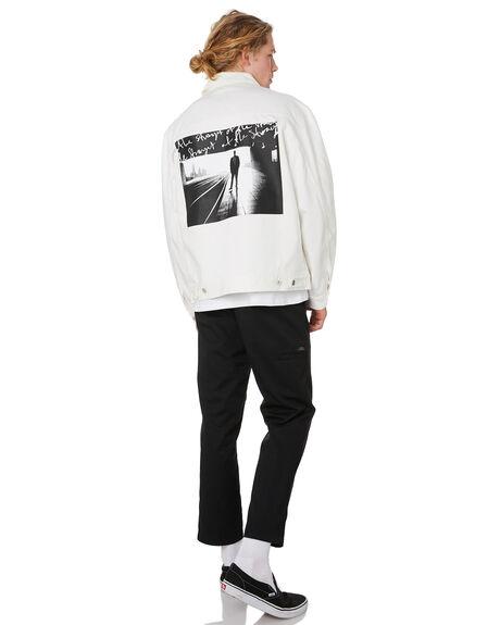 IVORY MENS CLOTHING POLAR SKATE CO. JACKETS - PSCNOTES-IVRY